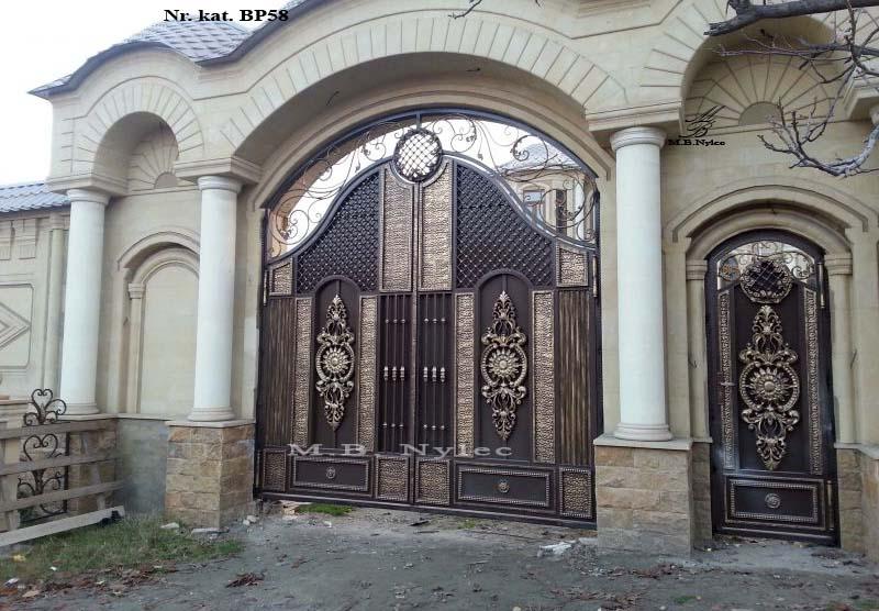 Brama pełna - zasłaniająca - pałacowa bp58