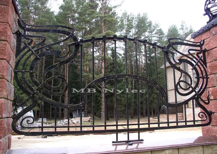 ogrodzenie kute bp93