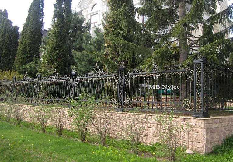 ogrodzenie kute bp38